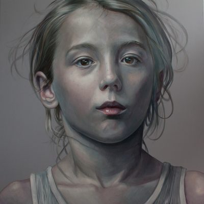 The Beautiful Boy, oil on canvas, 180x180cm