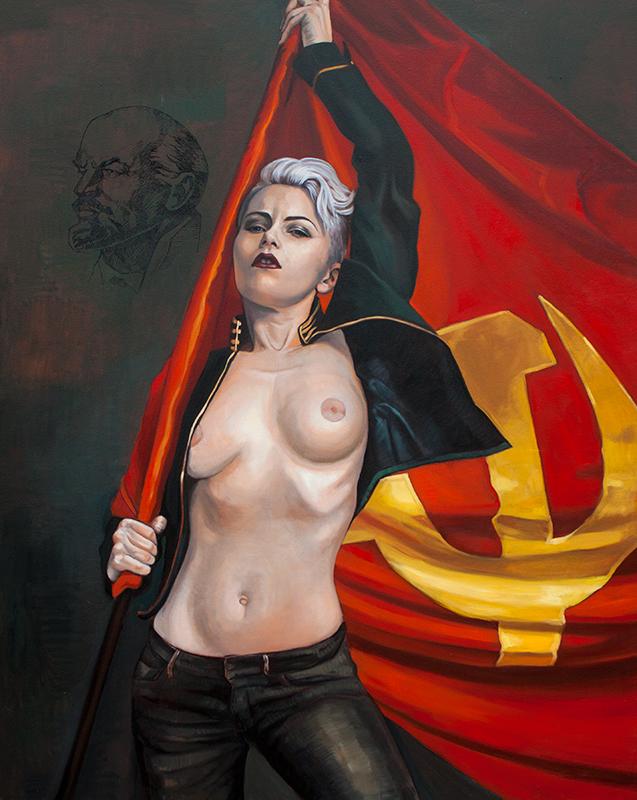 Flag-girl