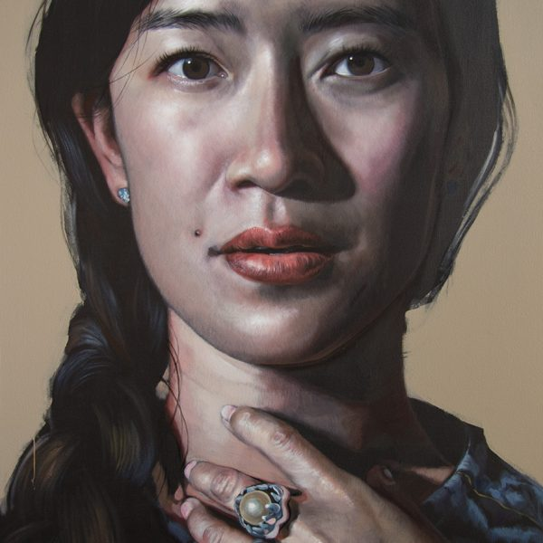 oil on canvas, 90x120cm, finalist Darling Prize, National Portrait Gallery Canberra