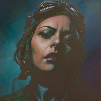 The Power Within, oil on linen, 91x91cm, SOLD