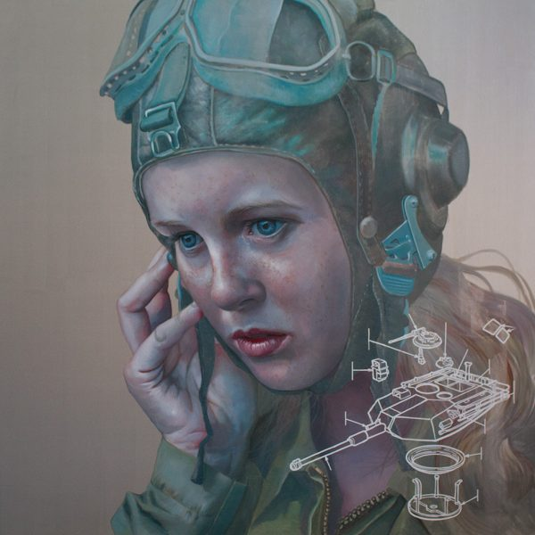 We Are Ready, Oil on linen, 180x180cm
