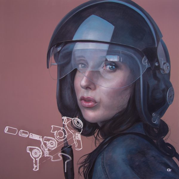 oil on linen, 180x180cm, available from Gallery One