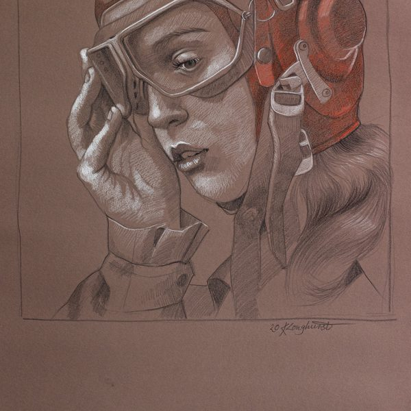 pencil on paper SOLD