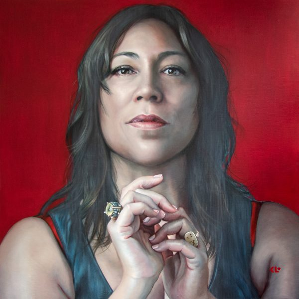 oil on linen, 121x121cm, winner Archibald Packing Room Prize 2021 SOLD available as print